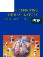 Drugs Acting on the Respiratory Organs Function - 1Drugs Acting on the Respiratory Organs Function -2