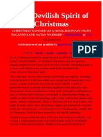 Christmas Exposed as a Devilish Feast From Paganism and Satan Worship - Lifesureplan at Lgi - 25.12.2017ad