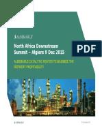 Albemarle North Africa Summit 2015-12-09