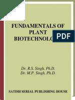 Dr. B.S. Singh Et Al Fundamentals of Plant Biotechnology
