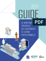 Guide de Maintenance Preventive Des Equipements de Cuisine Professionnelle