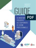 Guide de Maintenance Preventive Des Equipements de Cuisine Professionnelle