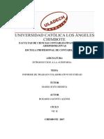 Informe Colaborativo Auditoria III Unidadx