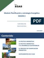 Sesion 2 Est y Plan Energ (Politica Energetica)