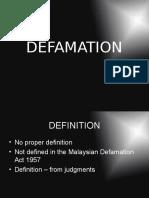 Defamation 2016