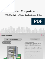 ★Multi V 4 vs Water Cooled Chiller