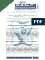 Abad 2017 i Seminário Internacional Em Estudos de Fronteira