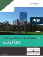 Opalesque Boston Roundtable