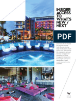 W Hotels One Pager May 2017