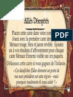 Relic Nemesis Githellion Desperate Allies Card Errata Fr