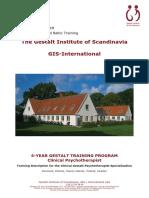 Clinical Psychotherapist 4 Year Gestalt Training Program w Application 2015 16