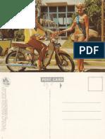 Honda Postcard