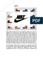 Introduction of Nike