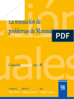 Libro Resolucion Problemas Matematicas Form Inicial Prof Primaria