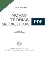Pitirim A. Sorokin - Novas teorias Sociológicas.pdf