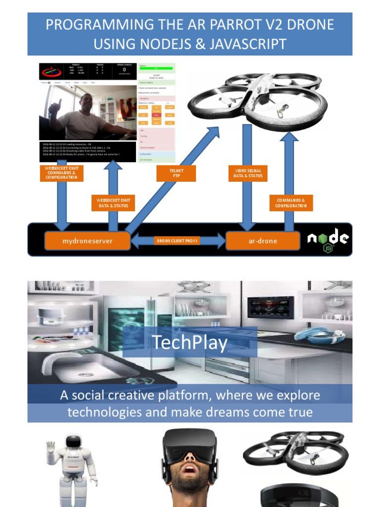 FF-AR-Parrot-2-drone pdf | Computing | Tecnologia