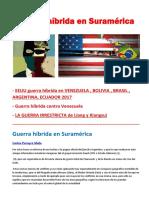 Guerra Híbrida en Suramérica - Carlos Pereyra Mele