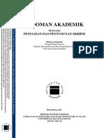 Pedoman Penulisan Dan Penyusunan Skripsi Prodi Farmasi Fmipa-unisba (1433h-2012m)