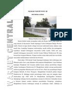 Sejarah Pakubuwono III Di Lubuk Landai