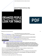 6 Things the Most Organized People Do Every Day - Barking Up the Wrong Tree