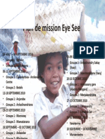 Eye See Exhibition dates - Madagascar