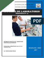 Laboratorio de Electrónica Práctica Nº 11
