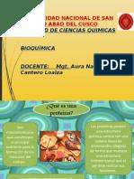 Diapositivas Ptroteina y Enzimas