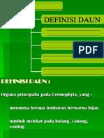 Introduction of Leaf