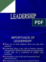 Leadership Ob
