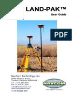 96 310038 3001 Revc User Guide Land Pak