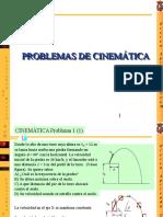 Problemas Cinematica