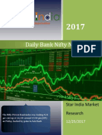 Dailly Bank Nifty News Letter 25-12-2017