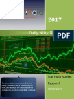 Dailly Nifty News Letter 25-12-2017