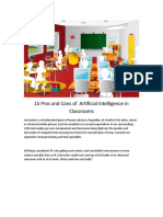 Artificial Intelligence in Classroom