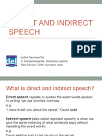 Week 04-English 2-Direct and Indirect Speech (1)