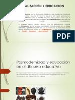 Posmodernidad y educación en el discurso educativo
