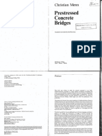 Prestressed Concrete Briges Christian Menn