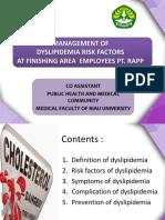 Ppt Penyuluhan-faktor Risiko Dislipidemia - Fix
