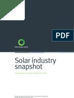 CEC Solar Data Sheet - 2009