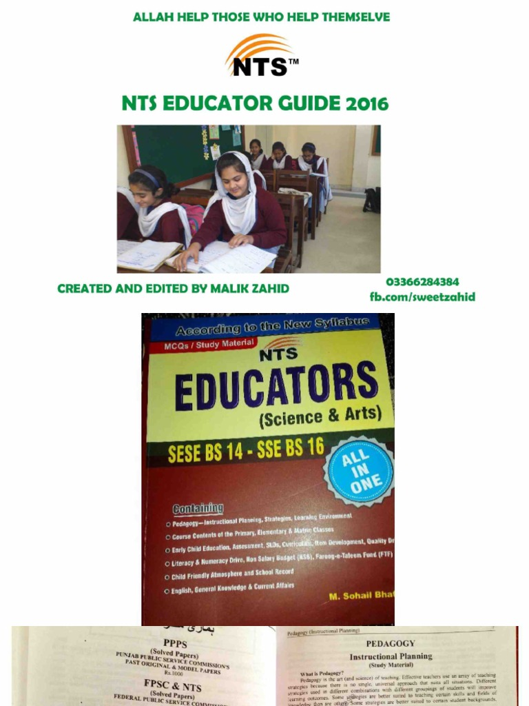 Nts educator guide pdf