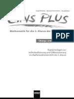 Eins Plus - Mathematik Für Die 3. Klasse Der Volksschule - Übungs Und Fördermaterial