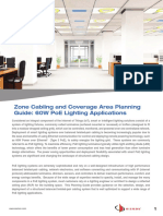 20170314 Zone Cabling and Coverage Area Planning Guide 60w Poe Lighting Applications