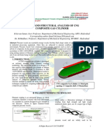 Design and Structural Analysis of Cng