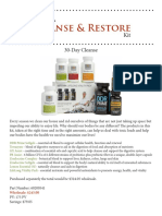 Cleanse & Restore Kit and Protocol