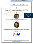 Polycystic Ovarian Syndrome & Role of Homeopathy in PCOS