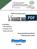 La Biomasse Marine