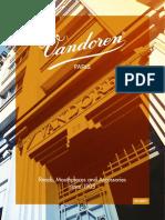 Brochure Produit Vandoren 2017 English