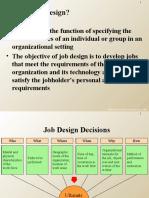 27 Work and Job Design