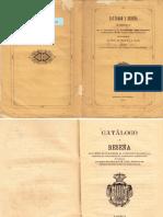 Catálogo Exposición Arqueológica de Valencia de 1878