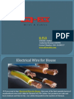 Electrical Wire for House - Qflx Cable